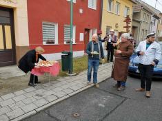 Ostatky - průvod masek obcí