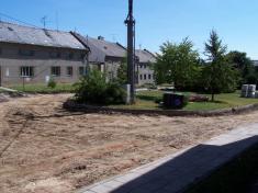 2004 - stavba silnice