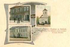 Kaple, škola, hospoda