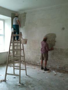 Rekonstrukce prostor pro knihovnu
